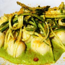 Gnocchi con Zucchini