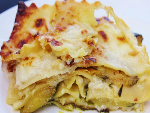 Sunday Pasta Lasagna di Zucchine e Mozzarella in Bianco 2 640