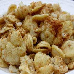 Orecchiette con Cavolfiore (Cauliflower)