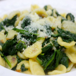 Orecchiette con Spinaci (Spinach)