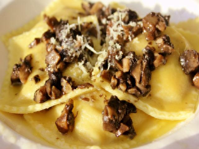 Sunday Pasta Ravioli di Funghi Portobello e Ricotta 640