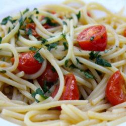 Spaghetti con Alici (Anchovies)