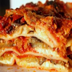 Lasagna alle Melanzane (Eggplant)