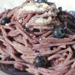 Spaghetti ai Mirtilli (Blueberries)