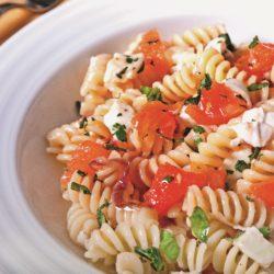 Fusilli alla Checca (Tomato and Mozzarella)