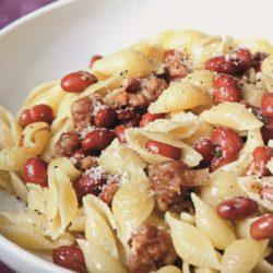 Conchiglie con Fagioli Rossi (Red Beans)
