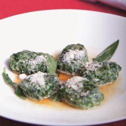 Gnudi di Spinaci e Ricotta (Spinach)