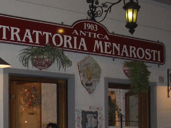 Antico Ristorante Menarosti