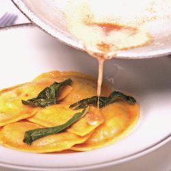 Ravioli di Spinaci al Burro e Salvia (Butter and Sage)